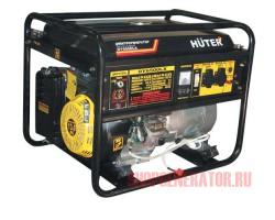 Бензиновый генератор Huter DY6500LX-электростартер