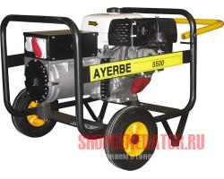 Бензиновый генератор AYERBE AY 5500T HE