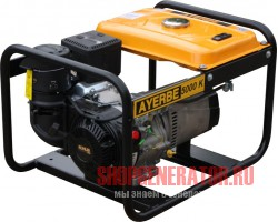 Бензиновый генератор AYERBE AY 5000 K