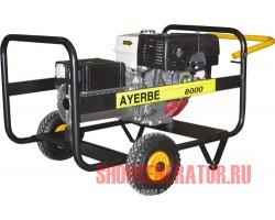 Бензиновый генератор AYERBE AY 8000 HE