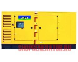 Дизельный генератор Aksa AC 400 в кожухе
