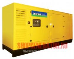 Дизельный генератор Aksa AC 500 в кожухе