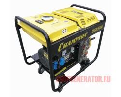 Дизельный генератор CHAMPION DG6500E (DG6501E)