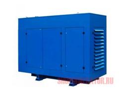 Дизельный генератор АД100-T400 двигатель ЯМЗ под капотом
