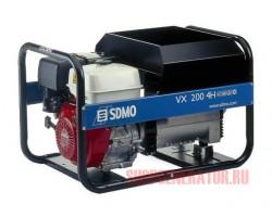 Сварочный генератор SDMO VX 200/4 H-C